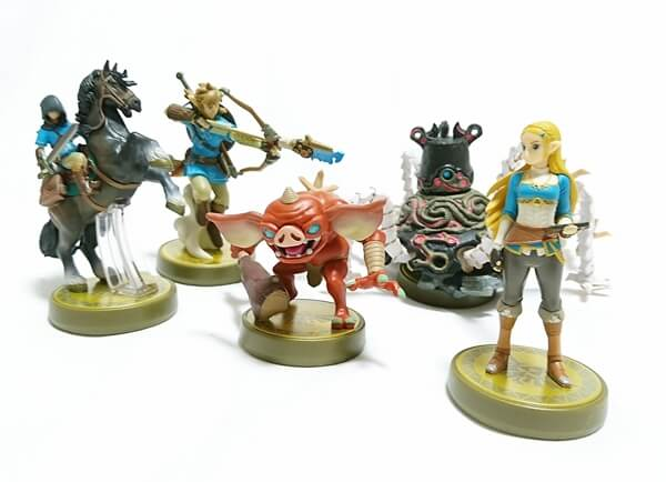 amiibo【ゼルダの伝説 Breath of the Wild】